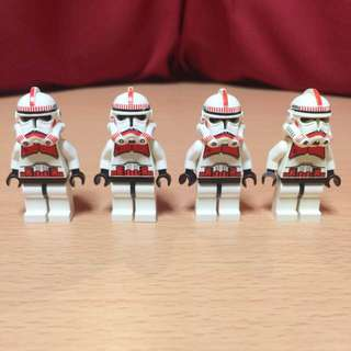 LEGO Star Wars Phase 2 Clone Troopers (Shock Troopers)