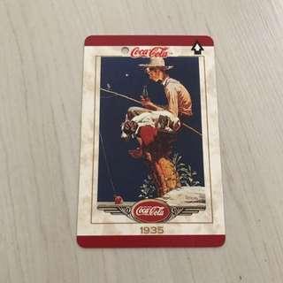 Vintage Coca-Cola Adult Farecard