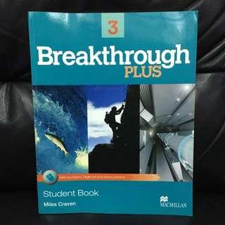 Breakthrough plus 3 #我有課本要賣