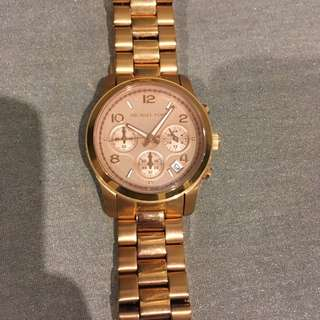 Michael Kors 5128 Rose Gold With Box
