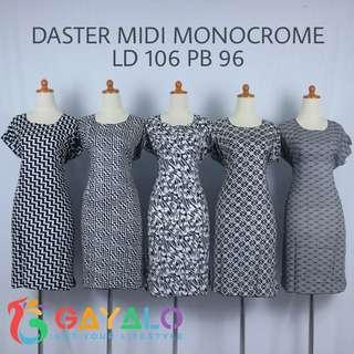 DASTER MIDI MONOCROME 01