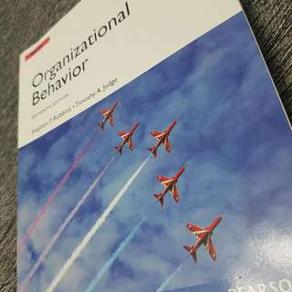 Organizational Behaviour Textbook [USED]