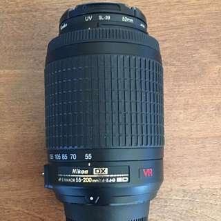 Nikon NIKKOR DX AF-S 55-200mm/1.4-5.6G ED VR Lens