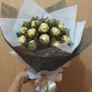 Bouquet Coklat