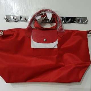 Longchamp Short Handle With Sling