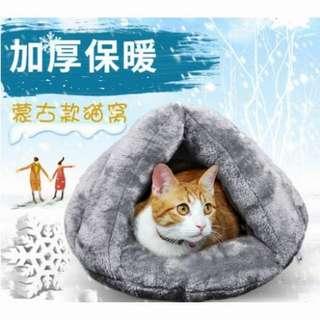 «Guts豆»貓咪冬天的窩蒙古包貓窩貓咪床鋪