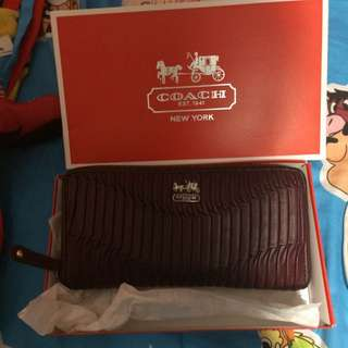 Coach Madison Purse Wallet