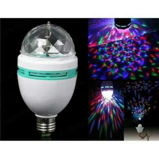 Rotating RGB Led DISCO Party Bulb