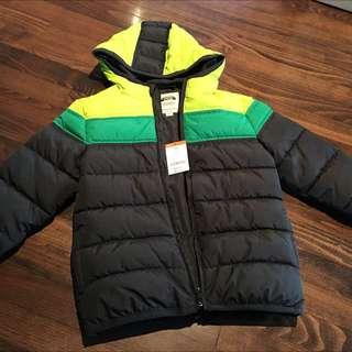 NWT Gymboree winter jacket 5/6T