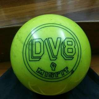 DV8 Misfit Pearl (Neon Yellow) Bowling Ball