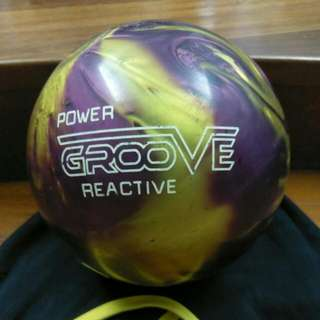 Brunswick Power Groove Reactive Bowling Ball