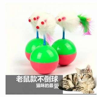 «Guts豆»貓咪不倒翁球貓抓棒貓抓板