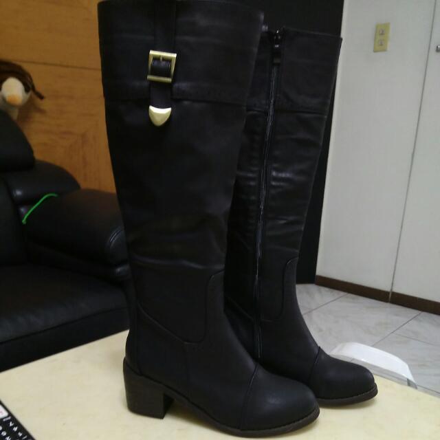 長筒靴40號