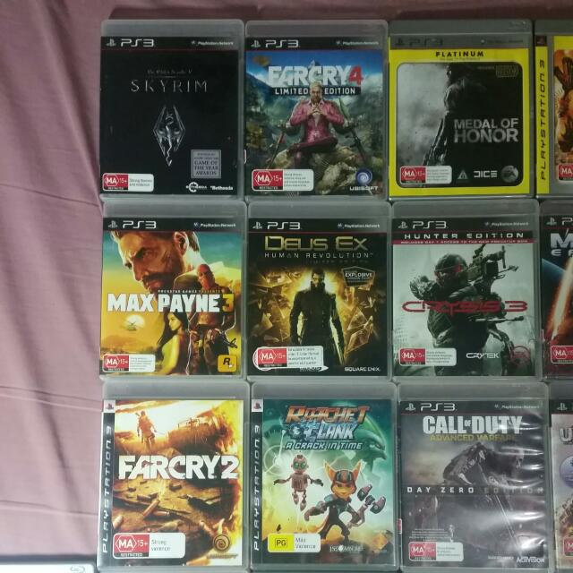 $8 EACH PS3 GAMES