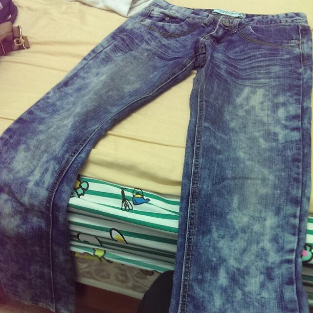 (降)牛仔褲