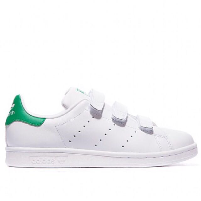 best authentic 6f12e 735cf 🎉 Promotion - Authentic Adidas Stan Smith Velcro Green