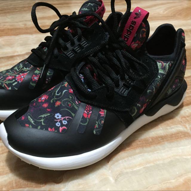Adidas tubular 女 碎花 平民Y3 US7