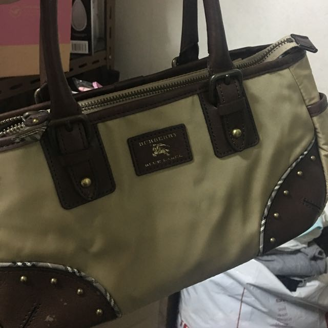 24056486298308 Almost Brand New Authentic Burberry Blue Label Bag, Luxury, Bags ...