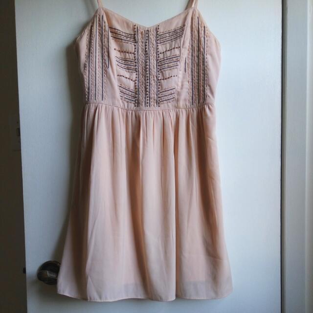 American Eagle Peach Summer Dress