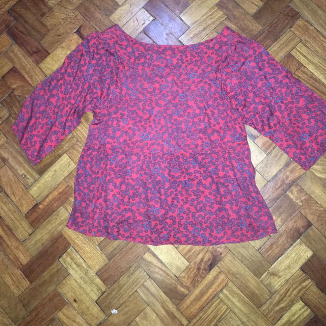 APPLE & Eve Red Blouse