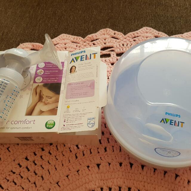 Baby Bottle Sterlizer And Breast Pump