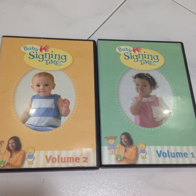 Baby Signing Time Dvd Vol 12 Books Stationery Childrens Books