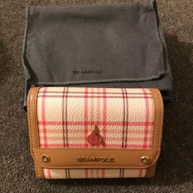 Beanpole Trifold Wallet (Pink)
