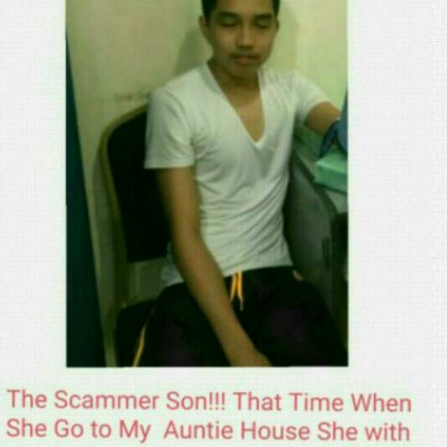 Beware of this Scammer.