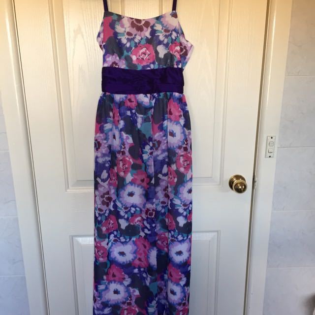 Brand New Floral Formal Maxi Dress