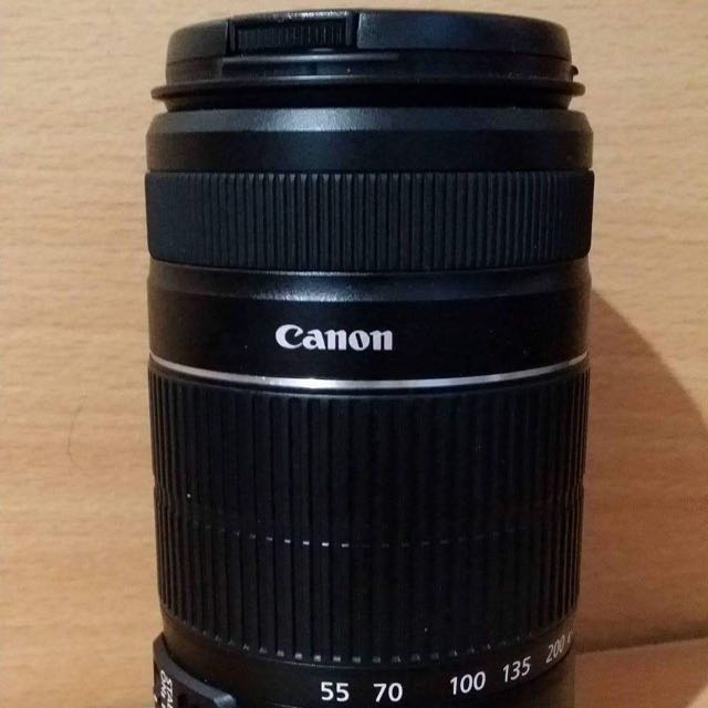 Canon EFS 55-250mm IS II /Charger