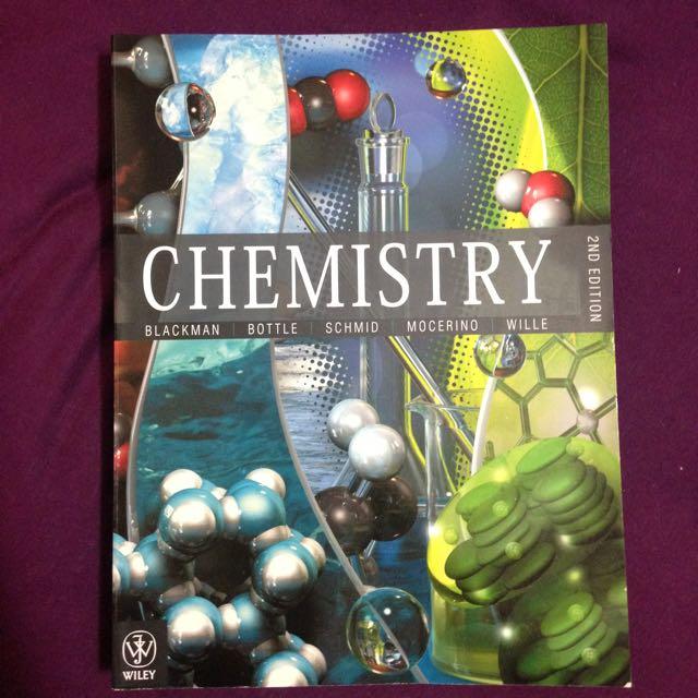Chemistry By Blackman Et Al 2nd Ed.
