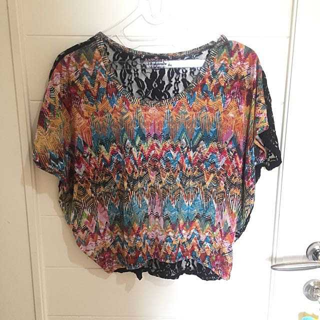 Colour Lace Top
