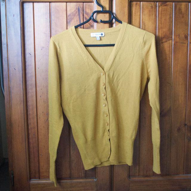 Cotton On Mustard cardigan