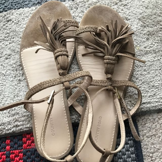 Country Road Leather Sandal