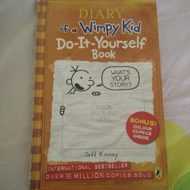 Diary of the wimpy kiddo it yourself book books stationery diary of the wimpy kiddo it yourself book books stationery fiction on carousell solutioingenieria Gallery