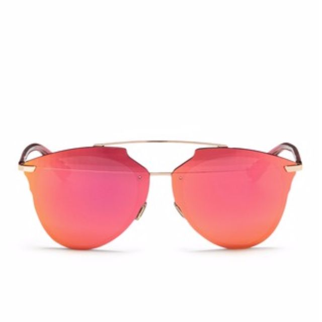 2dcc02d3d224 DIOR - REFLECTED PRISM EFFECT MOUNTED MIRROR LENS SUNGLASSES ...