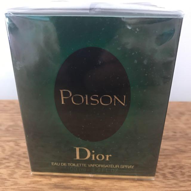 Dior Poison Eau De Toilette Vaporisateur Spray