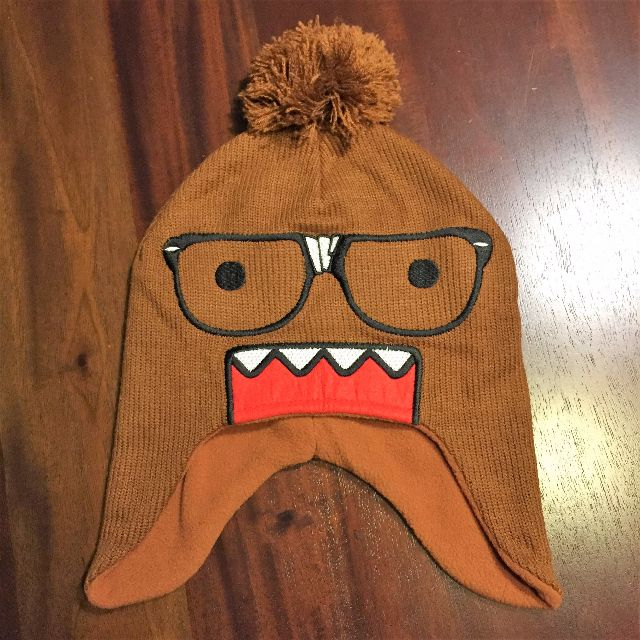 33f8ae977d7 Domo Nerd Face Pom Peruvian Beanie Hat