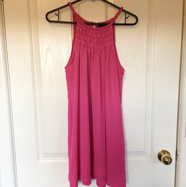 Dotti Pink Casual Summer Dress