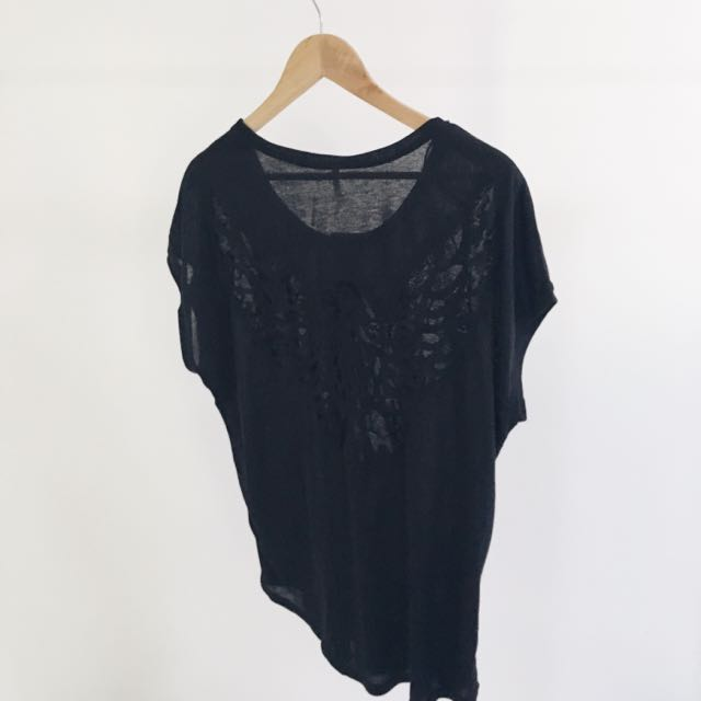 Eagle Cut Out Top - Size 12