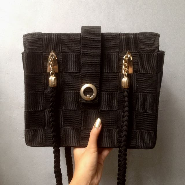 Elizabeth Bag // Deep Black