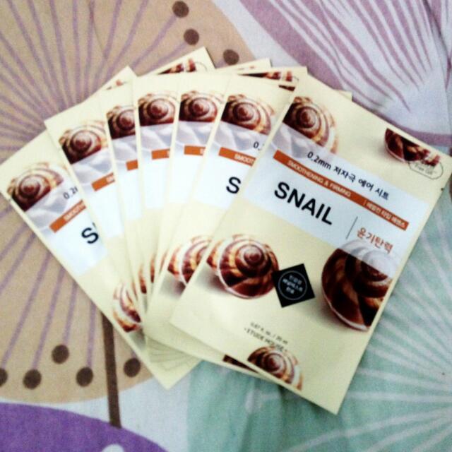 Etude - Snail Mask