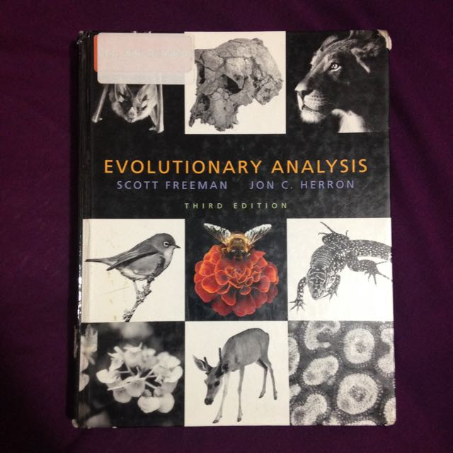 Evolutionary Analysis Textbook