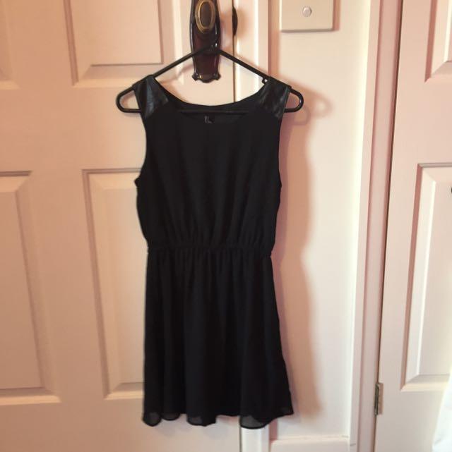 F21 Small Black Dress