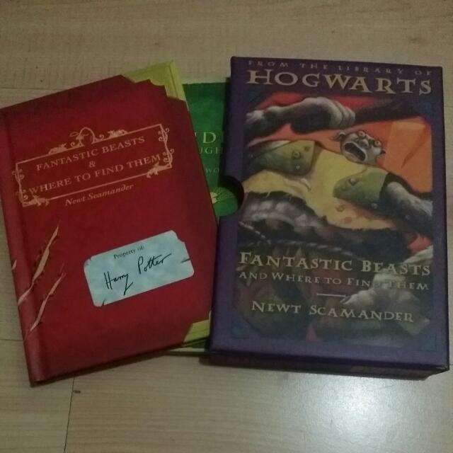 (Reserved) Fantastic Beasts And Where To Find Them & Quidditch Through The Ages