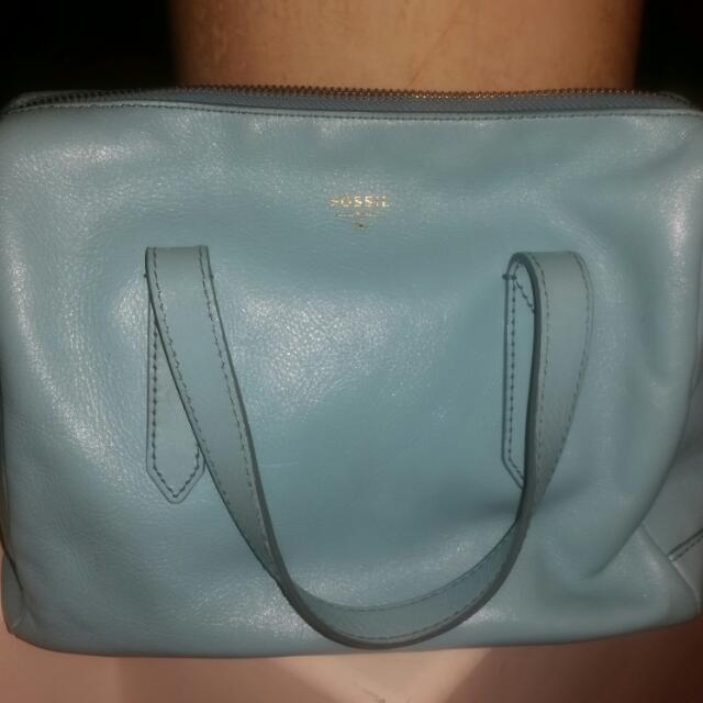 Fossil Light Blue Bag