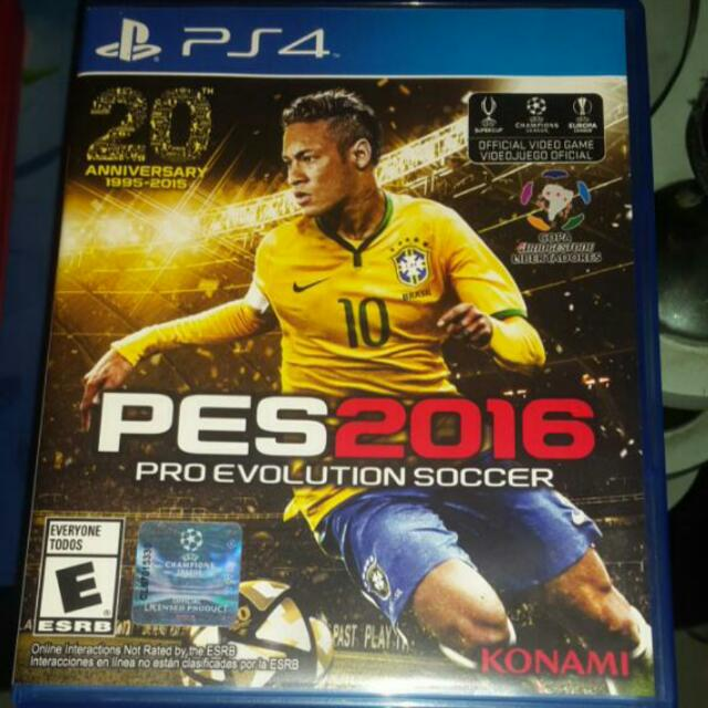 FREE ONGKIR ORIGINAL PES 2016 (PS4)