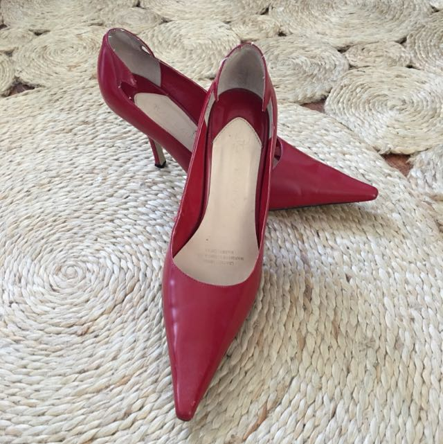 Gorgeous Pillar Box Red Stillettos
