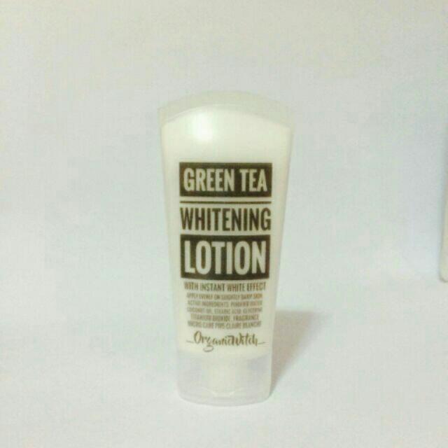 Green Tea Whitening Lotion