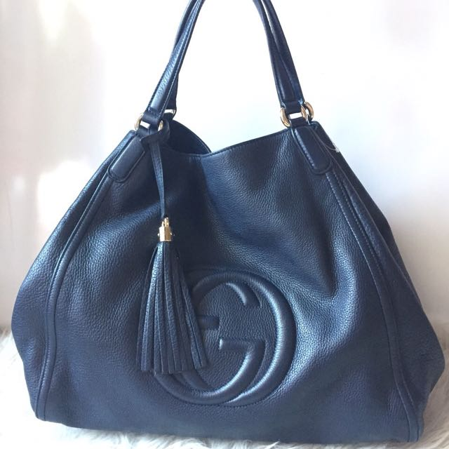 Gucci SOHO Large In Navy